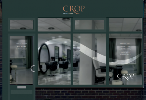 Crop Hair & Beauty Shopfront - Rebranded
